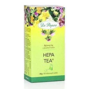 Jaterní čaj Hepa tea porcovaný