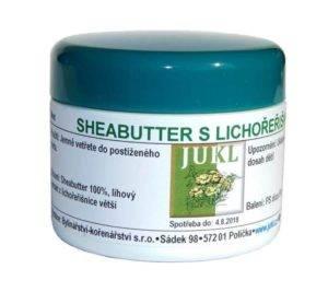 Sheabutter mast s lichořeřišnicí