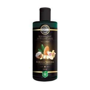 Mandlový olej s kokosem a vanilkou