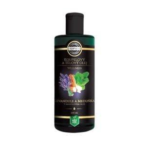Mandlový olej s levandulí a meduňkou