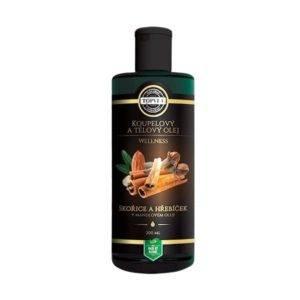 Mandlový olej s hřebíčkem a skořicí