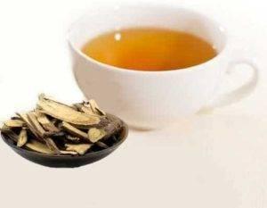 Lékořice čaj
