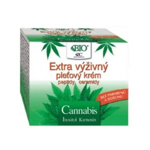 konopný krém na obličej (extra výživný Cannabis)