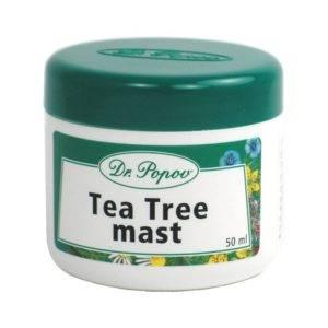 Antiseptická mast Tea Tree (čajovníková mast)