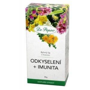 Odkyselující čaj s podporou imunity