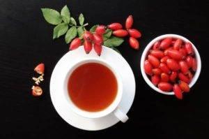 Šípkový čaj účinky
