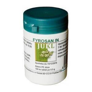 Fyrosan IN (tablety na štítnou žlázu)