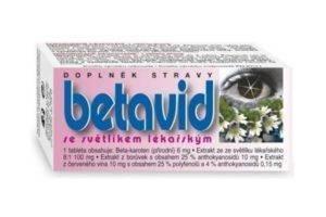 Betavid (tablety na oči)