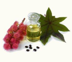 Použití ricinového oleje