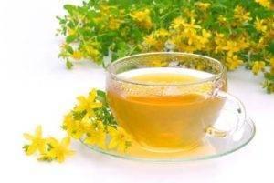 Třezalkový čaj účinky
