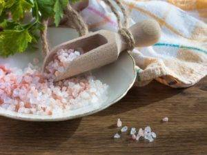 Výroba soli do koupele