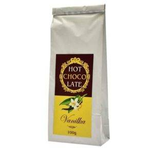 Horká čokoláda s vanilkou