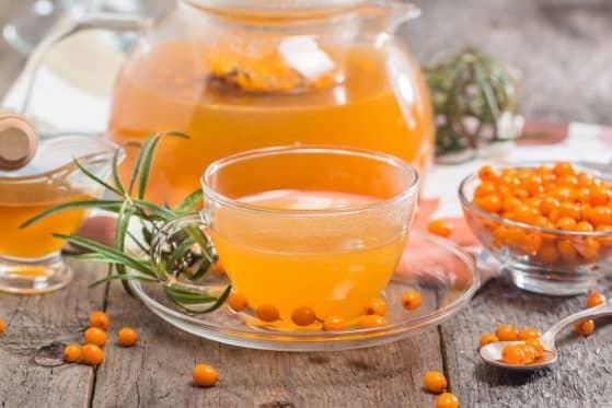 Rakytníkový čaj recept