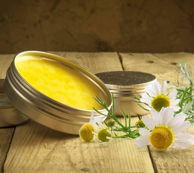 Heřmánková mast recept (domácí výroba heřmánkové masti)