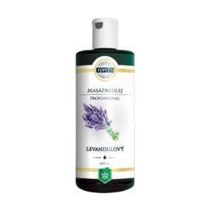 Levandulový olej masážní