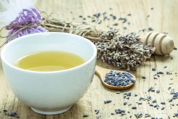 Levandulový čaj recept