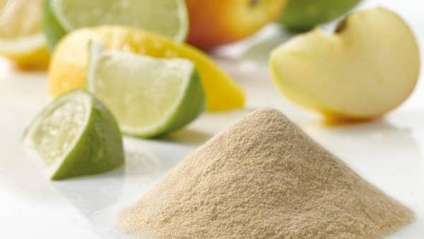 Citrusový pektin použití