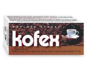 Kofex (kofeinové tablety)