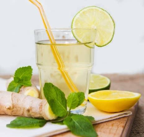 Domácí zázvorová limonáda recept