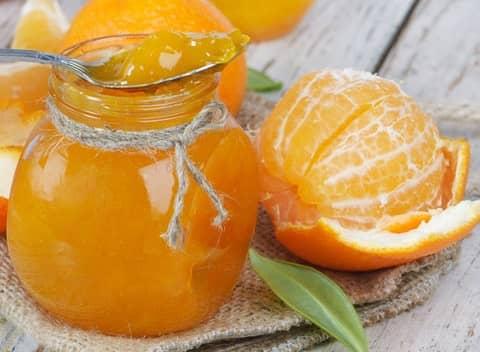 Pomerančová marmeláda recept