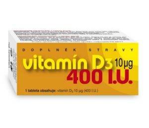 Vitamín D3 tablety