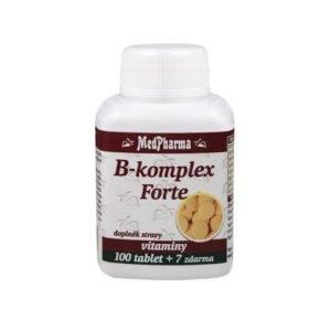 Vitamín b komplex v tabletách