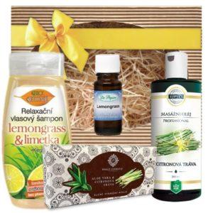 Lemongrass dárková sada (citronová tráva)