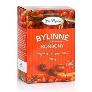 Rakytníkové bonbóny s vitamínem C