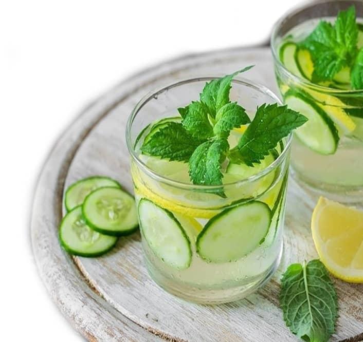 Okurková limonáda recept