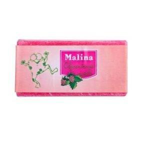Malinové mýdlo