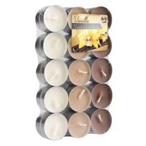 Čajové svíčky Vanilka