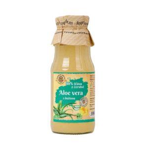 Šťáva z aloe vera (aloe vera šťáva)