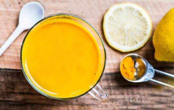 Čaj z kurkumy recept