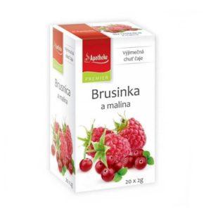 Brusinka a malina ovocný čaj
