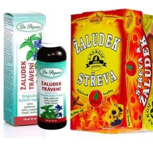 Bylinky na trávení (bylinky na zažívání) bylinný set